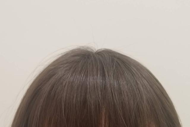 髪の乾き方