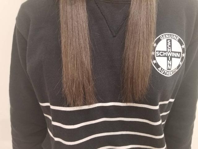 髪の乾き方(毛先)